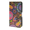 MOONCASE Flower style Leather Wallet Flip Card Slot Stand Pouch чехол для HTC Desire 620 A08 механизм сливной alca plast a08