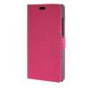 MOONCASE Simple style Leather Card Slot Wallet Bracket Back чехол для BlackBerry Leap Hotpink blackberry leap