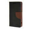 MOONCASE Splice Color Leather Wallet Flip Card Slot Bracket Back чехол для Sony Xperia Z4 Compact (Mini) Black02