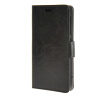 MOONCASE Smooth PU Leather Flip Wallet Card Slot Bracket Back чехол для HTC Desire 320 Black htc desire 320 8gb dark gray