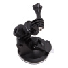 Новый держатель на присоске держатель+штатив адаптер + винт для GoPro герой 2 3 камера видеокамеры на присоске штатив адаптер для gopro герой 1 2 3 hd на dslr камеры