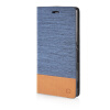 MOONCASE Canvas Design Leather Side Flip Wallet Pouch Stand Shell Back ЧЕХОЛДЛЯ Sony Xperia Z3 Light Blue mooncase canvas design leather side flip wallet pouch stand shell back чехолдля sony xperia z3 dark blue