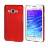 MOONCASE Жесткий Прорезиненные Резина Оболочка Вернуться Защитная крышка чехол для Samsung Galaxy Z1 Z130H красный