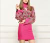 Lovaru ™Трикотажные платья Европа 2015 осенью новый бат рукав свитера шерсть жаккардовые бутик женской europa европа фотографии жорди бернадо