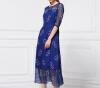 Lovaru ™2015 лето новой женской одежды оптовая шелк модный бренд в Европе и Америке из бисера платье