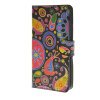 MOONCASE Flower style Leather Side Flip Wallet Card Slot Stand Pouch чехол для Huawei Ascend Y635 a08 pulsar pulsar shellcase для sony xperia e4g