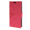 MOONCASE Lovely pattern Leather Wallet Flip Card Slot Bracket Back чехол для Microsoft Lumia 640 Hotpink mooncase чехол для microsoft lumia 640 xl pattern series leather flip wallet card slot stand back cover