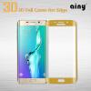 Ainy защитное стекло screen protector с PMMA доской для Samsung S6 Edge plus +6 цветов 0.2mm матовое защитное стекло ainy для apple iphone 7 plus