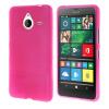 MOONCASE длительного цвета Мягкая силиконовая гель ТПУ гибкой оболочки Защитный чехол для Microsoft Lumia 640 XL ярко-розовый чехол для microsoft lumia 640 xl gecko силиконовая накладка прозрачно глянцевая белая