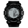 Cheonmasan (TOMO) серия электронных часов шип обновленной версии спортивные часы восхождение беговая дорожка T1008 A-черные черные клавиши мужские беговая дорожка spirit fitness xt685