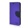 MOONCASE Cross pattern Leather Wallet Flip Stand Shell Back ЧЕХОЛДЛЯ Samsung Galaxy Core Prime G360 Purple