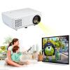 Excelvan RD-805 800x480 Мультимедиа Мини Портативный светодиодный проектор для домашнего кинотеатра Театр HDMI / USB / AV / VGA / ATV ЕU Plug cheerlux мини светодиодный проектор 800x480 1200 люмен 1200 1 hdmi usb vga av dtv eu