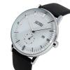 skmei 9083 мужчин моды случайные кварцевые часы классического подлинного кожаным ремешком skmei 30m relogio rolojes 9083