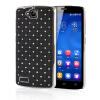 MOONCASE Hard Chrome Plated Star Bling Back ЧЕХОЛДЛЯ Huawei Honor 3C Black аккумулятор huawei honor 3c ascend g730 2300mah