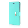 MOONCASE Leather Side Flip Wallet Card Slot Pouch Stand Shell Back ЧЕХОЛ ДЛЯ Samsung Galaxy Note 4 N9100 Mint Green чехол для для мобильных телефонов love mei 20 samsung 4 n9100 n910 for samsung galaxy note 4 n9100 n910