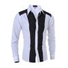 Плюс Размер M-XXL Весна Марка Повседневная Мужчины рубашка с длинным рукавом Slim Fit Denim футболки для мужчин Camisa masculina 2015 100% slim fit xxxl camisa masculina 1212