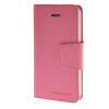 MOONCASE чехол для iPhone 5G / 5S PU Leather Flip Wallet Card Slot Stand Back Cover Pink mooncase чехол для iphone 6 plus 5 5 pu leather flip wallet card slot stand back cover pink