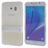 MOONCASE Samsung Galaxy Note 5 ЧЕХОЛДЛЯ Soft Silicone Gel TPU Skin With Bracket Protective Clear 01 balance basic clear gel