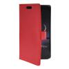 MOONCASE тонкий кожаный бумажник флип сторона держателя карты Чехол с Kickstand чехол для LG G Flex F340 красный