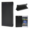 MOONCASE Huawei Ascend P8 Lite ЧЕХОЛ ДЛЯ Premium PU Leather Pouch Flip Black ecostyle shell чехол флип для huawei ascend d2 black