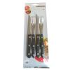 [Супермаркет] Jingdong Германия Fackelmann Fackelmann зазубренный нож стейк стейк нож с деревянной ручкой четыре электрическая вилка комплект установлен 5225581 нож германия