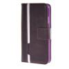MOONCASE Senior Leather Flip Wallet Card Slot Bracket Back чехол для Cover Apple iPhone 6 Plus (5.5) фиолетовый icarer wallet genuine leather phone stand cover for iphone 6s plus 6 plus marsh camouflage