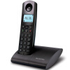 Alcatel (ALCATEL) Эллипс250HW Цифровая беспроводная телефонная рама машины Single Machine Английское меню Подсветка дисплея Home Office Fixed Wireless Host Black