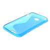 MOONCASE S - линия Мягкий силиконовый гель ТПУ защитный чехол гибкой оболочки Защитный чехол для Sony Xperia Е4 синий