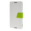 MOONCASE Xperia Z4 , Leather Flip Bracket Back ЧЕХОЛ ДЛЯ Sony Xperia Z4 White Green sony xperia e5 f3311 white
