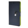 MOONCASE чехол для HTC One M8 Flip Leather Wallet Card Slot Bracket Back Cover Blue htc hc v941 чехол для one m8 blue