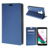 MOONCASE ЧЕХОЛ ДЛЯ LG G4 Beat G4S Premium PU Flip Leather Wallet Card Holder Bracket Back Pouch Dark Blue 01 japan anime pocket monster pokemon pikachu cosplay wallet men women short purse leather pu coin card holder bag