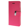 MOONCASE чехол для HTC One M9 Flip Leather Wallet Card Slot Bracket Back Cover Hot pink