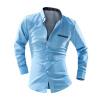 zogaa новую мужскую рубашку деловая длинные рукава самара купить пижаму фланелевую мужскую рубашку