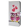 MOONCASE Сова стиль Кожа боковой паз флип Бумажник карты Стенд Чехол чехол для Microsoft Lumia 640 XL / A12 highscreen чехол флип для fest xl xl pro black