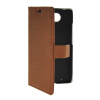 MOONCASE Slim Leather Side Flip Wallet Card Slot Pouch Stand Shell Back ЧЕХОЛДЛЯ Motorola Moto Droid Turbo XT1254 Brown mooncase classic cross pattern leather side flip wallet card pouch stand soft shell чехол для motorola moto g hot pink