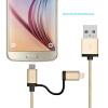 Яблока mfi Lightning для USB дата кабель зарядного устройства разъем USB для андроида Ф-цвета