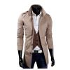 zogaa мужчин ветер пальто слим случайные средней длины пальто средней длины nordland