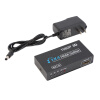4 Переключатель HDMI порт концентратора Splitter Выход Full HD 1080P HD TV HDCP 1080p full hd 1 input 8 output hdmi v1 3 splitter black