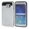 все цены на MOONCASE ЧЕХОЛДЛЯ Samsung Galaxy S6 Edge Soft Silicone Gel TPU Skin With Card Holder Protective White онлайн