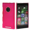 MOONCASE Hard Rubberized Rubber Coating Devise Back ЧЕХОЛДЛЯ Nokia Lumia 830 Hot pink