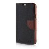 MOONCASE Cross pattern Leather Side Flip Wallet Card Slot Pouch Stand Shell Back ЧЕХОЛДЛЯ Samsung Galaxy A7 Black brown mooncase soft silicone gel side flip pouch hard shell back чехолдля samsung galaxy s6 grey