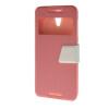 MOONCASE View window Leather Wallet Flip Stand Pouch чехол для HTC Desire 620 Pink htc desire 650