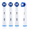 Braun Oral B EB20-4 насадки для электрической зубной щетки 4 штуки насадка для зубной щетки braun oral b p clean eb20 3 1шт 81429917