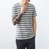 случайные люди футболки слим подходит 2016 мужчин сняли футболки хлопок летних мужчин футболки моды мягкой бесплатная доставка горячей продажи m-xxl футболки