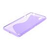 MOONCASE S - линия Мягкий силиконовый гель ТПУ защитный чехол гибкой оболочки Защитный чехол для Sony Xperia C4 фиолетовый чехол