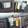 Самоклеющиеся Авто Организатор Box держатель мобильного телефона зарядное устройство колыбель держатели в авто lola держатель для телефона в авто