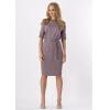 буэнос ниньос пояс оформлены юбку - карандаш с коротким рукавом платье длиной до колен