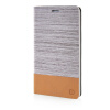 MOONCASE Canvas Design Leather Side Flip Wallet Stand Shell Back ЧЕХОЛ ДЛЯ Samsung Galaxy Note Edge N9150 Light Brown противоударное стекло для samsung galaxy note edge n9150 с олеофобным покрытием green cases 0 33 мм