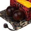 Zooboo Зубу Эбенового дерева фитнес-мяч гандбол фиолетовый Восточная африканская массивная древесина Секвойи сандал