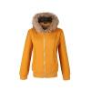 КТ&ХФ женщин зима Осень молния Сгущает капюшоном пальто женщин Верхняя одежда Повседневная Спортивная